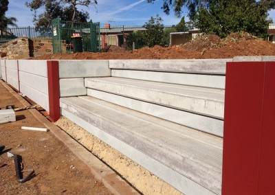 Retaining walls dirtwork landscapes pty ltd for Retaining wall contractors adelaide