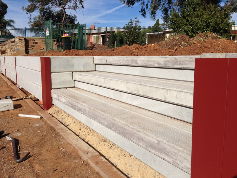 Timber Retaining Wall Sleepers Adelaide